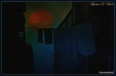 Di notte... - Marzo-2017 (agostinodascoli) Tags: art digitalart digitalpainting photoshop photopainting luna cielo cianciana agostinodascoli sicilia creative texture colore fullcolor notte