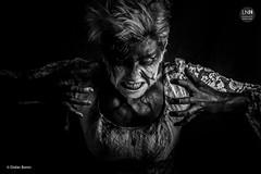 IMG_5075-Modifier (DidierBonin) Tags: noiretblanc bw blackwhite black hima colère rage face make up makeup