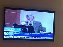 California Air Resources Board meeting