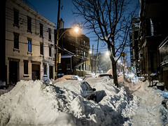 After the storm Stella - Montreal by Night (Damien Gorin) Tags: tempête neige stella nuit montréal city night snow storm snowstorm lights