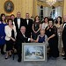 Anna-May McHugh, National Ploughing Association was honoured with the president's award by the Irish Hotels Federation at the IHF conference in Kilkenny.