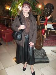 Dresden Hotel (Marie-Christine.TV) Tags: feminine transvestite lady mariechristine dresden leather skirt lederrock dame tgirl tgurl