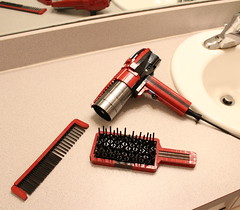 Hair Dryer, Brush, and Comb (David FNJ) Tags: lego brush hair dryer comb absbuilderchallenge