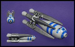 The Cheroot Special (Karf Oohlu) Tags: lego moc microscale microspacetopia cigarship scifi