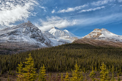 Just More Peaks (Philip Kuntz) Tags: peaks mountains athabascaglacier icefieldsparkway banff banffnationalpark alberta canada hildapeak mtathabasca explore
