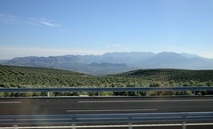 0601-20161015_Enroute from Cazorla to Baeza-Spain-view Swards from coach towards Parque Natural de Sierra Magina (Nick Kaye) Tags: baeza andalucia spain europe landscape mountains nationalpark