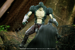Killer Croc versus Batman