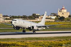 US Navy --- Boeing P-8A Poseidon --- 168855 (Drinu C) Tags: adrianciliaphotography sony dsc rx10iii rx10 mk3 mla lmml plane aircraft aviation usanavy usnavy boeing p8a poseidon 168855 737 military