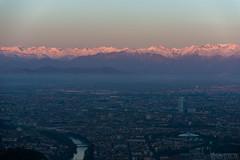 Superga, 29.03.2017-8 ( YariGhidone ) Tags: rosso avventura van life vanlife torino landscape superga camper sunset sunrise alba paesaggio top