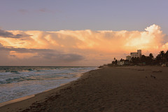 Morning Light Show (Apryl Wiese) Tags: beach sunrise florida deerfieldbeach