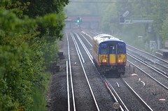South West Trains 455702 (stavioni) Tags: west electric train south railway trains multiple emu unit swt class455 455702