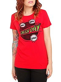 Green Day Comic Tee