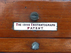 Lancaster Instantograph (pho-Tony) Tags: wood old vintage wooden birmingham kodak antique large plate lancaster format veteran brass bellows folder largeformat folding 1898 photosofcameras instantograph the1898instantographpatent lancasterinstantograph