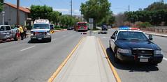 Motorcycle Down (Chris Yarzab) Tags: county usa america fire la down ambulance motorcycle sheriff southerncalifornia department calabasas mccormick lasvirgenesroad
