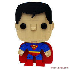 LEGO Classic Superman (POP! Hero) (bruceywan) Tags: man cute comics dc kent comic lego action steel super pop superman clark hero figure superhero photostream moc manofsteel popheroes brucelowellcom
