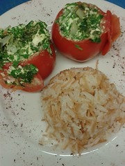stuffed tomatoes (Olive Cafe) Tags: stuffed rice tomatoes olivecafe olivecafehornsey