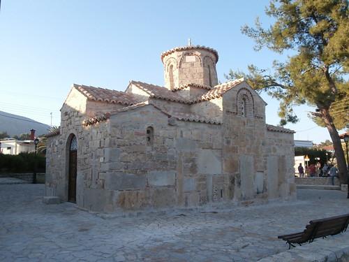 Λυγουριό. Ο ναός του Αγ.Ιωάννη του Ελεήμονος - Lygourio. The church of St. John the Merciful