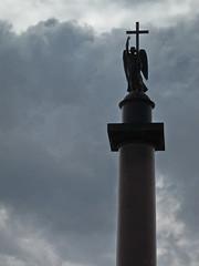 Piazza dell'Ermitage - San Pietroburgo (Stefano Corrias) Tags: lenin square san russia petersburg ermitage leningrad stefano curio pietroburgo corrias coorios