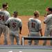 Trevor Plouffe, Eduardo Escobar, Clete Thomas, Jamey Carroll, Minnesota Twins