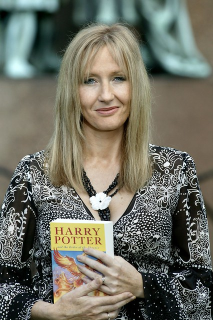 J K Rowling at the 2004 Edinburgh International Book Festival