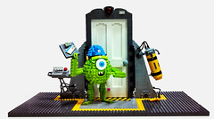 You know it only works if you have every piece (Dave Shaddix) Tags: door floor lego disney boo pixar monsters scare inc shaddix scarefloor