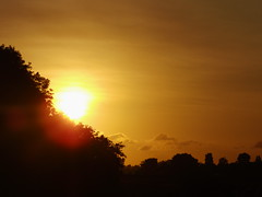zonsopgang (DidyvL) Tags: horizon s lucht zon ochtend oranje zonlicht morgens bijzonder vroeg warmte