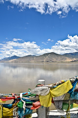Lucky River (@iloveDannyBoy) Tags: trip sky cloud mountain mountains clouds wow river photography photo amazing cool fantastic shoot foto shot good flag great tibet capture dannyboy 2013