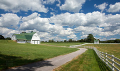 Forkview Farm (StateMaryland) Tags: road county sky field grass clouds barn fence landscape kevin farm moore agriculture mda harford forkview