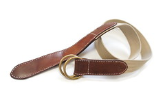 Double Ring Belt-3 (Smoky Sumi's Cafe) Tags: belt handcrafted leatherbelt doubleringbelt