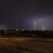 Three lightning strikes in one frame
