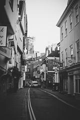York Street View (Matthew-King) Tags: road street york city england white black monochrome buildings town view yorkshire north minster