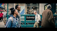 a scene from midtown (Steve Stanger) Tags: street nyc nikon manhattan widescreen streetphotography streetscene midtown cinematic stree movielook d7000 nikond7000