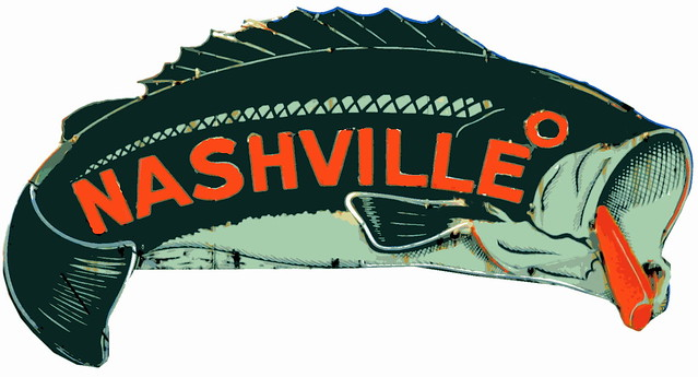 Things for Sale: T-Shirt #8: Nashville Largemouth Bass