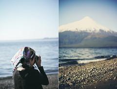 #5 (rodrigomg) Tags: chile sea woman lake field digital shoes 55mm ensenada puertovaras volcan rodrigomg canont2i lagllanquihue