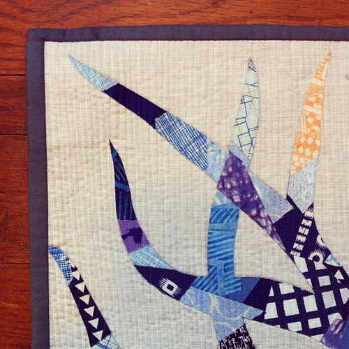 Here's a little peak at the last quilt I just finished for my book!