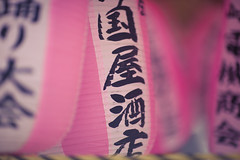 Hazy Pink (HOW FAR IS FAR?) Tags: travel pink summer beautiful festival japan canon photography japanese tokyo photo asia bokeh candid sightseeing streetphotography july vivid wanderlust canon5d lantern hazy ebisu kanto colourfull ef85mmf12liiusm