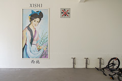 Xi Shi (rh89) Tags: portrait public beauty bicycle four ancient singapore apartments apartment flat board si great chinese culture legendary flats deck rack housing blocks block mei void beauties legend shi hdb development cultural simei xi