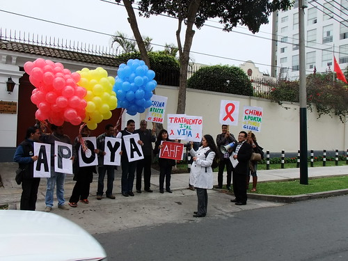 Peru: China Global Fund Protest