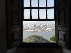 Convento da Penha, Vila Velha, Espirito Santo, Brazil (ANNE LOTTE) Tags: ventana vista fenster aussicht conventodapenha vitória janela blick annelotteo´dwyer religion