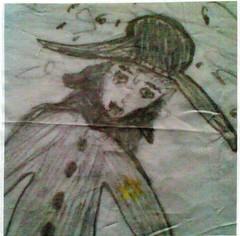 Fleeing Jew (winterblossom58) Tags: history jewry germany israel holocaust refugee thirdreich hitler jew jewish flee jewishhistory chasid persecution shoar hasid yellowstar shoer jewishart jewishman