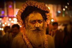 Sadhu (Leonid Plotkin) Tags: india festival religious asia religion celebration ritual hindu hinduism mystic sadhu ascetic holyman allahabad kumbhmela kumbh kumbhamela