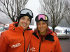 Whistler Blackcomb Snowboard Instructors Marc & Raff