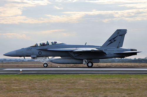 A44-222 Boeing F/A-18F Super Hornet RAAF