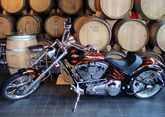 Easy Rider (knightbefore_99) Tags: easy rider bike harley art deepcovebrewery dollarton canada barrels beer spirits fast hog motorcycle northvancouver cool great