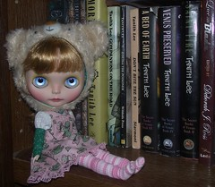 january 19, doll & my favorite books
