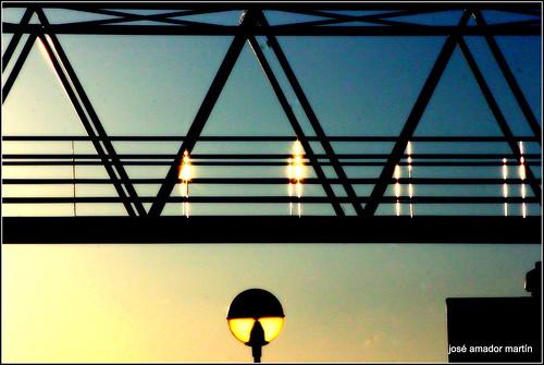 Pasarela de la Estación. Salamanca
