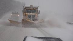 SHA Plow Train (StateMaryland) Tags: winter snow storm weather highway plow emergency sha plows statehighwayadministration