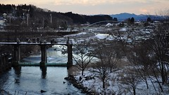 Daiya River, Nikkō-shi, Tochigi Prefecture, Japan (David McKelvey) Tags: world winter snow heritage japan river nikon unesco nikko tochigi 2010 daiya d5000