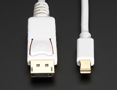 Mini DisplayPort to DisplayPort Cable - 10 ft/3 meters - White (adafruit) Tags: video cables audio 1698 adafruit