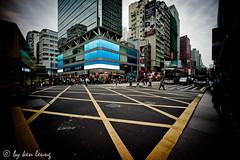 mongkok (kenlwc) Tags: road street leica people urban architecture hongkong traffic crowd wide kowloon mongkok 15mm mk m9 voigtlander15mm m9p